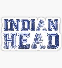Indischer Kopf Sticker
