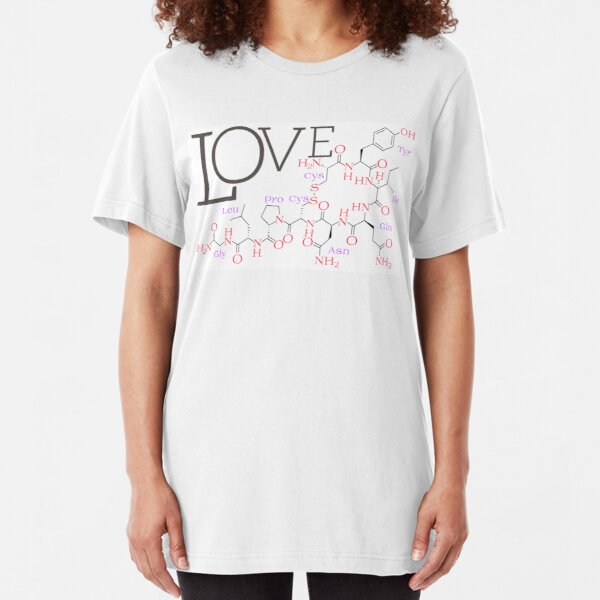 Love Drug - Oxytocin Slim Fit T-Shirt