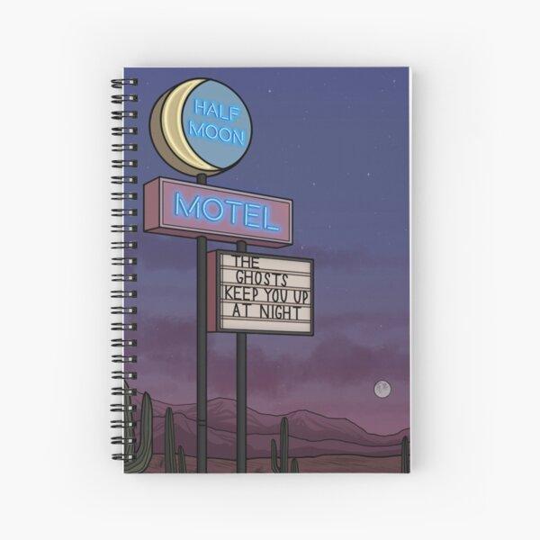 Ghost Motel Spiral Notebook