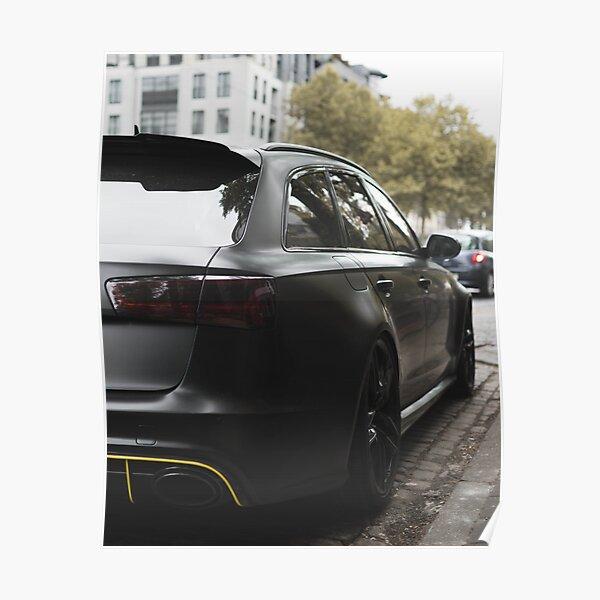 Audi RS6 Blvckbeast Poster