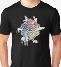 Flower of Life Totem Slim Fit T-Shirt