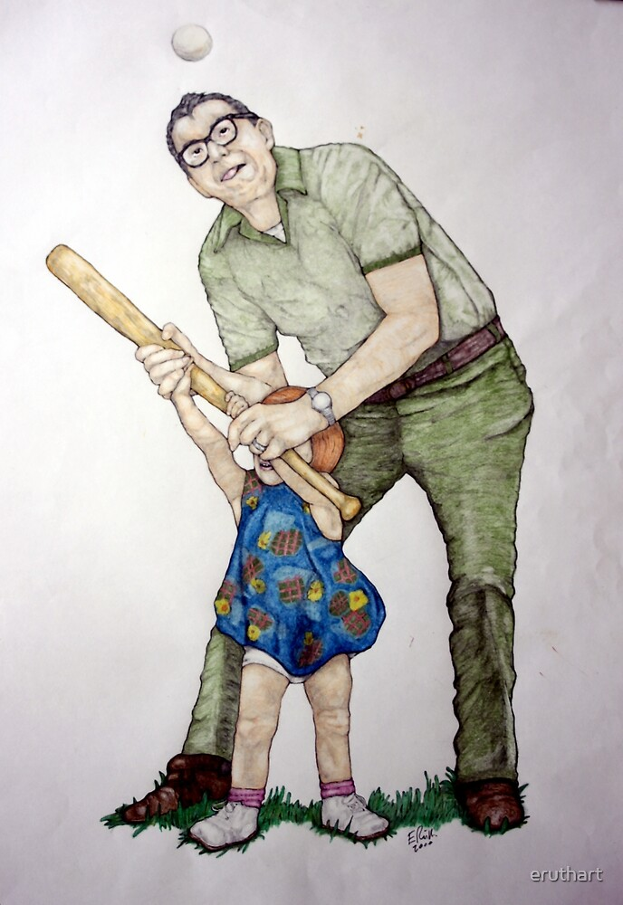 Batting Practice No 1 by eruthart