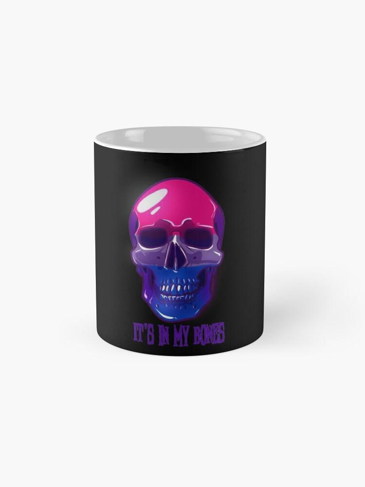 Alternate view of Bisexual Pride: It's In My Bones Mug