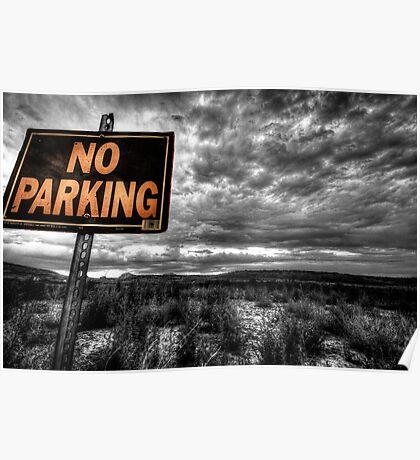 Good Parking Spot Poster