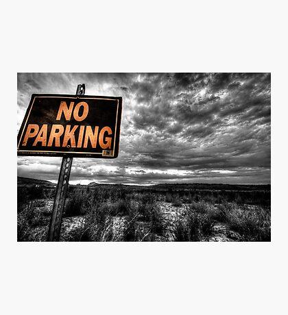 Good Parking Spot Photographic Print