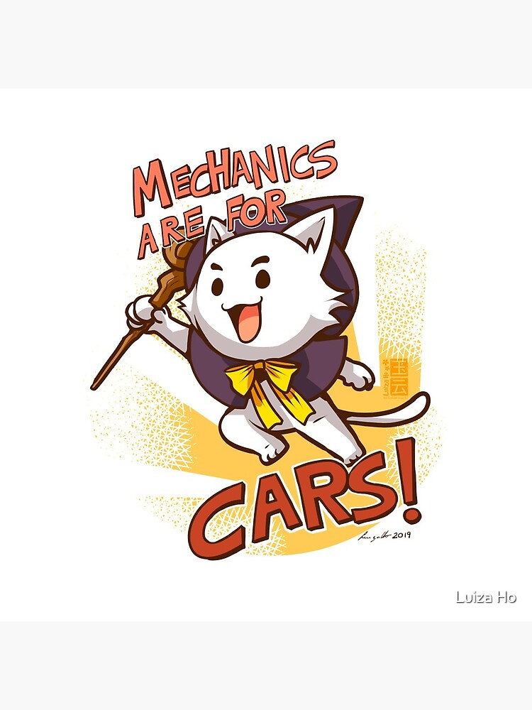 Mechanics are for cars! by teapotsandhats