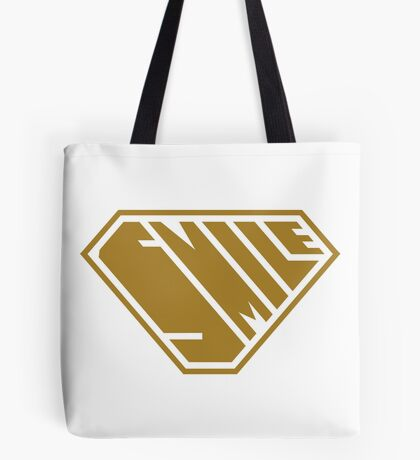 Smile SuperEmpowered (Gold) Tote Bag