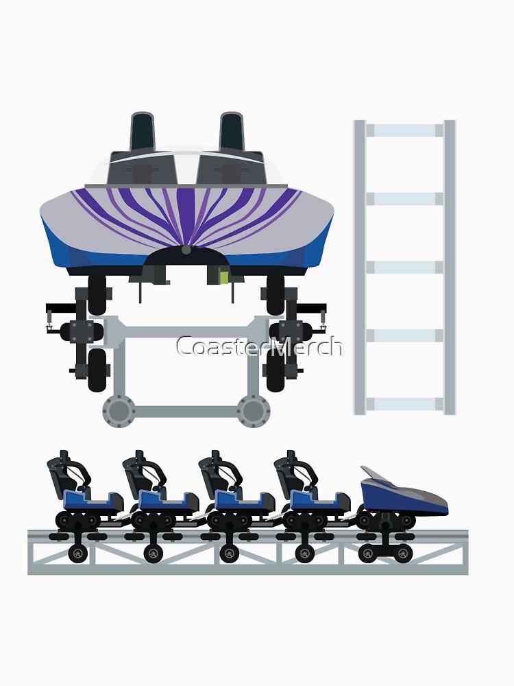 Do-dodonpa Coaster Train - S&S Air Launch Coaster by CoasterMerch
