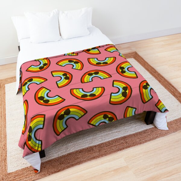 Cool Rainbow Pattern Comforter