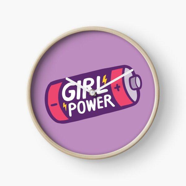 Girl Power Clock