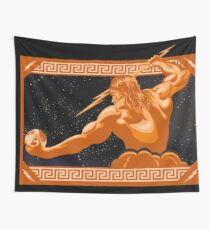 The Wrath of Zeus Wall Tapestry