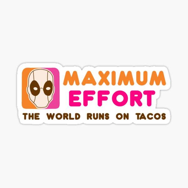 Maximum Dunkin' Sticker