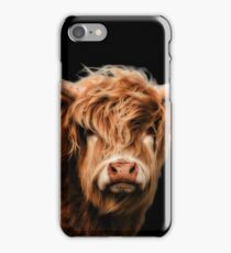 Highland Cow In Colour iPhone Case/Skin