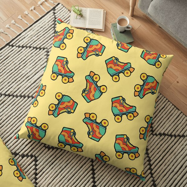 Get your skates on! Floor Pillow