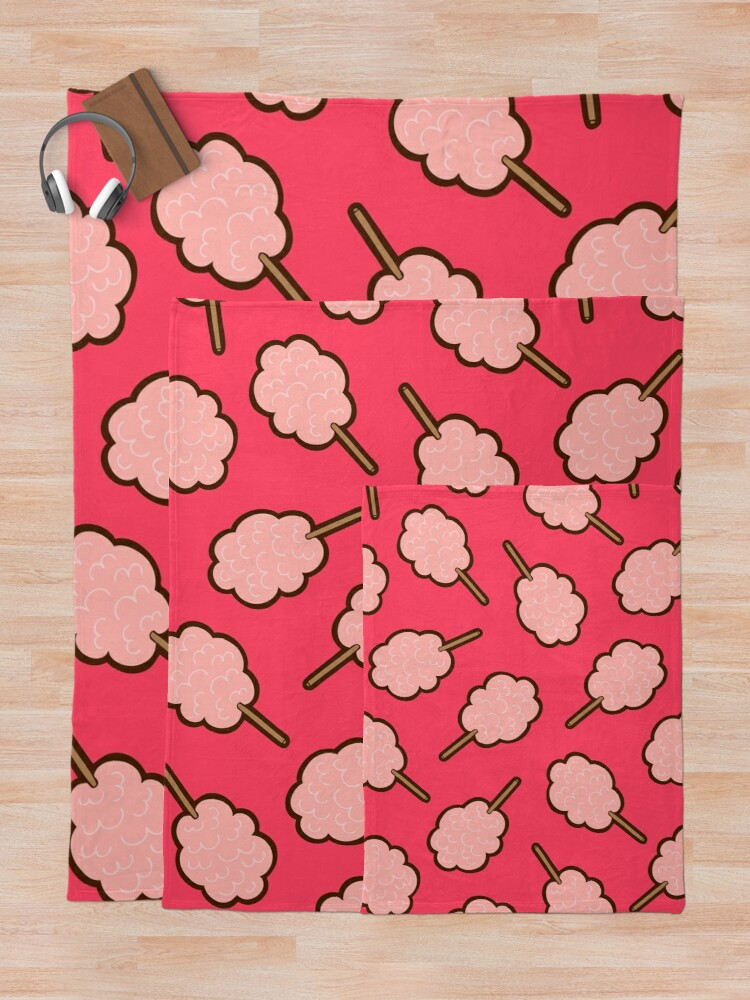 Alternate view of Cotton Candy Pattern Throw Blanket
