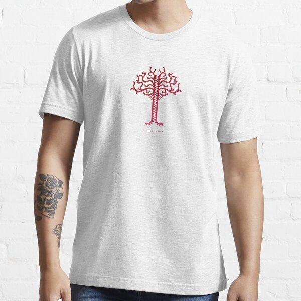 Biomechanics Tree - Red Essential T-Shirt