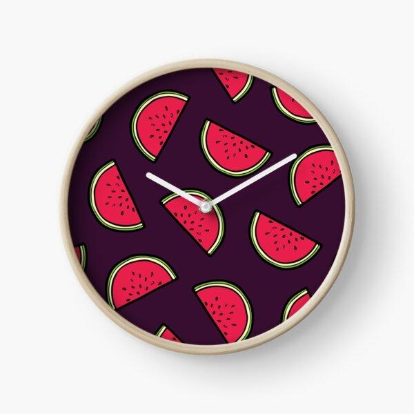 Watermelon Pattern Clock