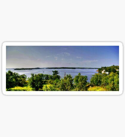 Lake of the Woods (Panorama) Sticker