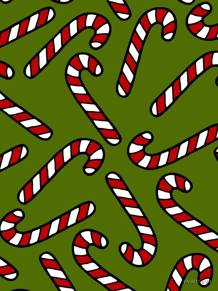 Candy Cane Pattern by evannave