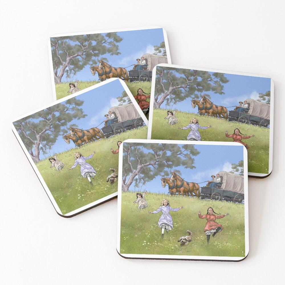 Prairie Family Coasters (Set of 4)
