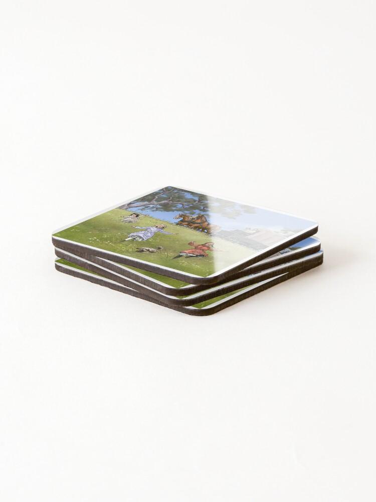 Alternate view of Prairie Family Coasters (Set of 4)