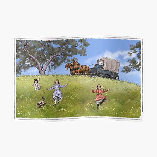 Famille Prairie Poster