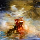 Splash of Color Oil Painting 3 by Fred Seghetti