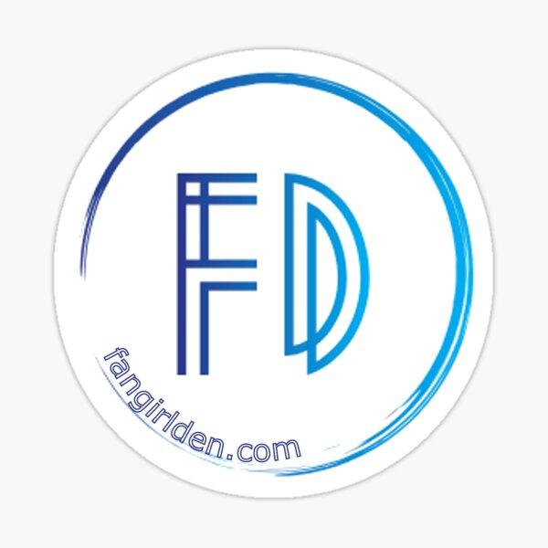 Fangirl Den Logo Sticker