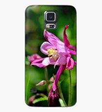 Common Columbine (Wild Pink) Case/Skin for Samsung Galaxy