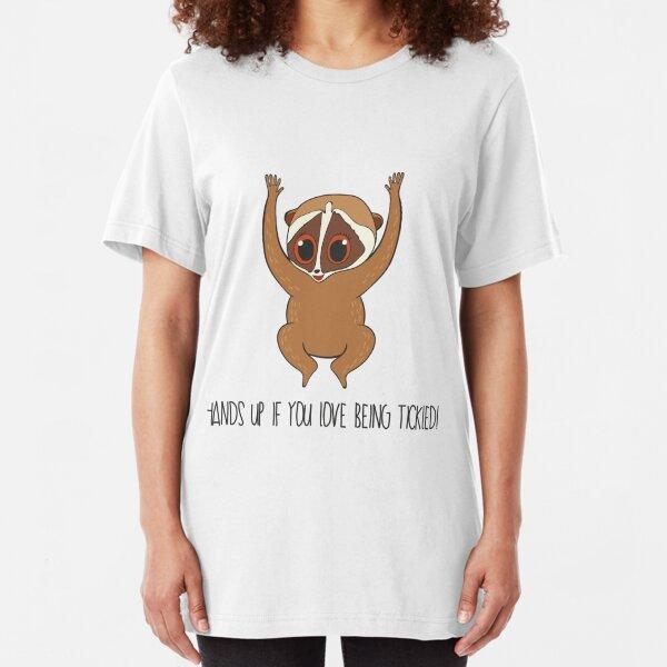 Cool Unisex Animal T-Shirt Greater Surfing Slow Loris