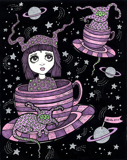 Fifi's Flying Saucers by Anita Inverarity