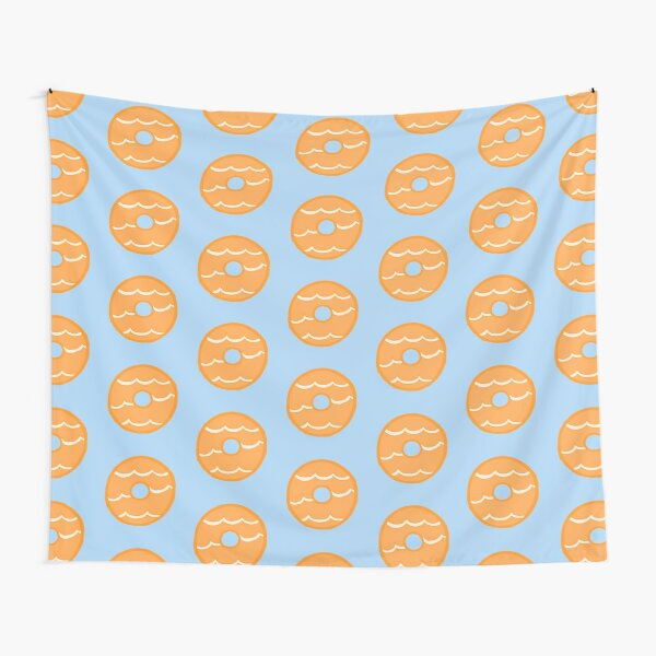 Orange Party Ring Biscuit Tapestry
