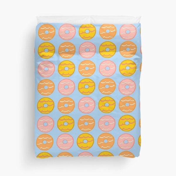 Party Ring Biscuits Duvet Cover