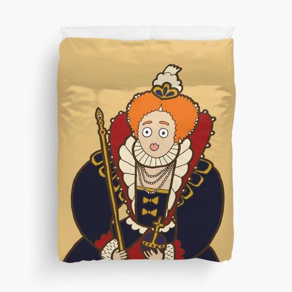 Good Queen Bess Duvet Cover