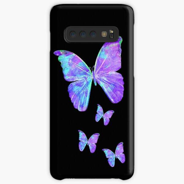 Purple Butterflies by Jan Marvin Samsung Galaxy Snap Case