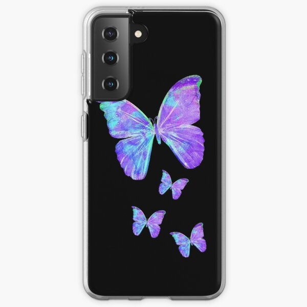 Purple Butterflies by Jan Marvin Samsung Galaxy Soft Case