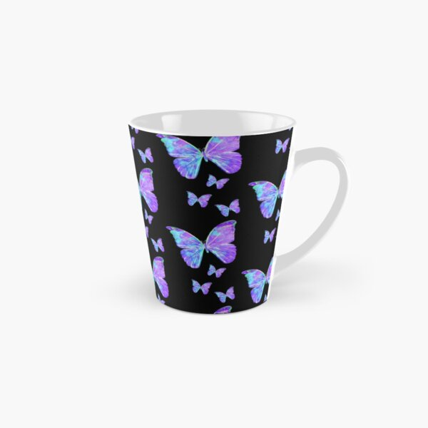 Purple Butterflies by Jan Marvin Tall Mug