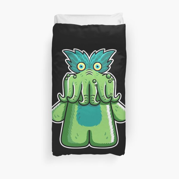 Black Friday Tickle-Me-Wiggly Duvet Cover