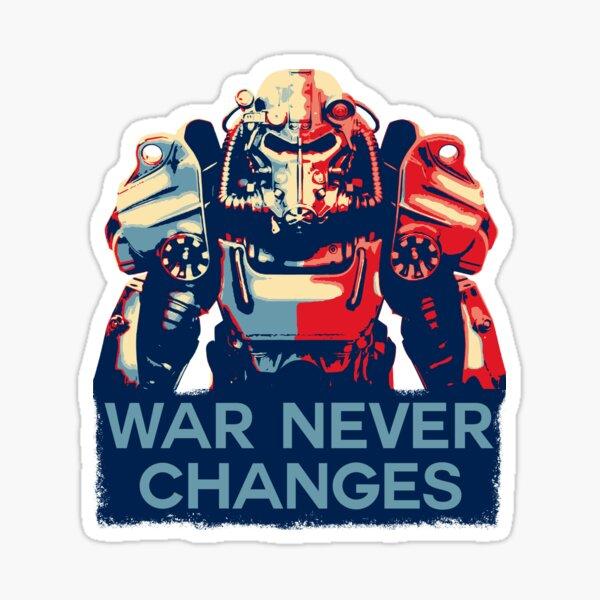 La guerre ne change jamais Sticker