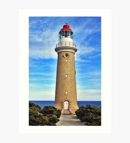 Lighthouse at Cape Du Couedic Art Print