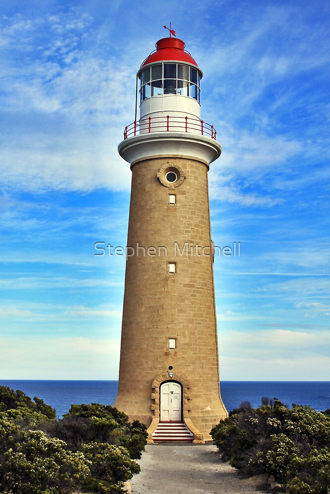 Lighthouse at Cape Du Couedic by Stephen Mitchell