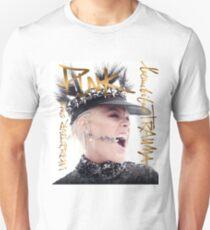 P! Nk Pink Tour Slim Fit T-Shirt