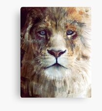 Lion // Majesty Canvas Print