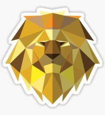 The Golden Lion Sticker
