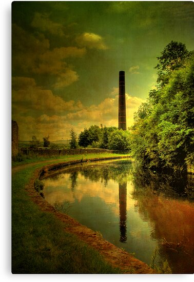 The Mill Chimney . by Irene  Burdell