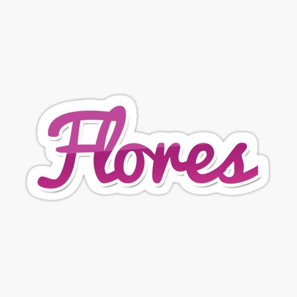 Flores Pegatina