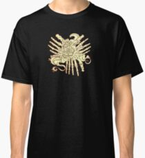 """""""Petals"""" Foot Bones and Flora Illustration Classic T-Shirt"""