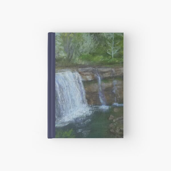 Ludlowville Falls by Laura Jaen Hardcover Journal