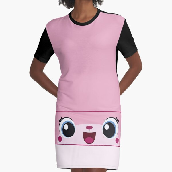 Unikitty Graphic T-Shirt Dress