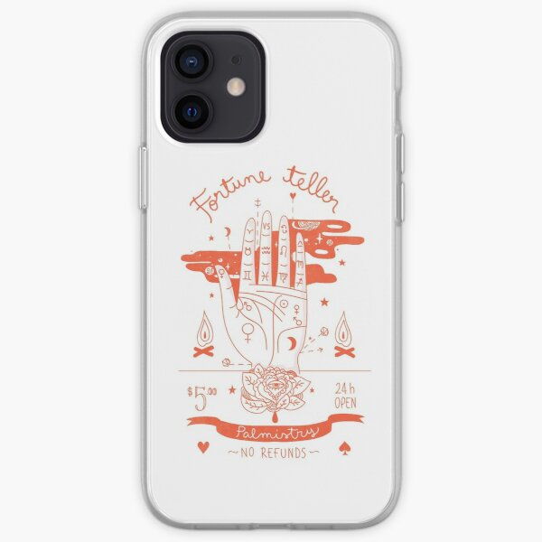 Fortune teller orange version iPhone Soft Case